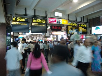 Churchgate Station Bombay