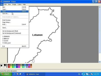 Amal's God save Lebanon project