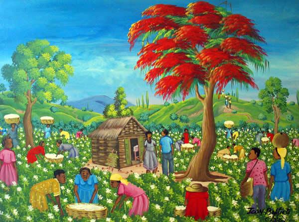 """""""La Bonne Recolte"""" by J.B. Chery."""