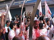 Haidar, a macabre procession during Ashoora