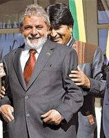 Lula and Evo Morales