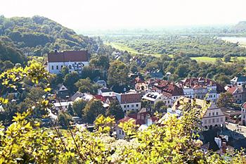 The 16th century  town of Kazimierz Dolny in Poland