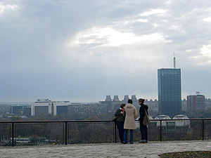 Seriocomico posts this picture of Belgrade on Flickr