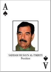 Saddam Card