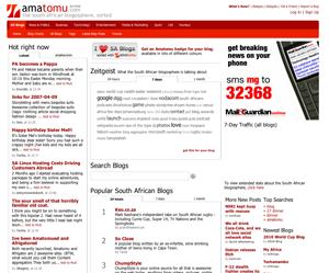Amatomu web page
