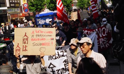 As in Tokyo, as in Paris, as across the world: Solidarity!