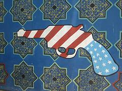 Mosaïque de pistolet
