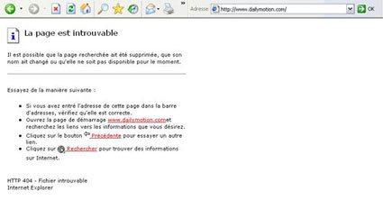 Dailymotion in Tunisia blocked-unblocked-blocked again