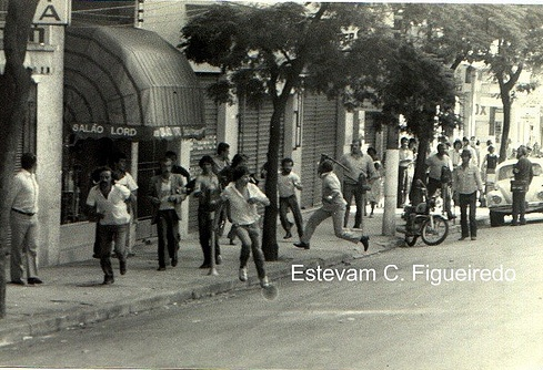 Strikers V Police 1980. Photo by Estevam Cesar, used with permission.