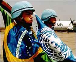 Soldado brasileiro no Haiti