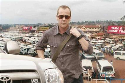Jack Bauer doing a CHOGM inspection in Kampala, Uganda