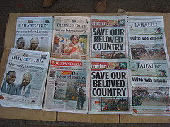 Kenyan newspapers
