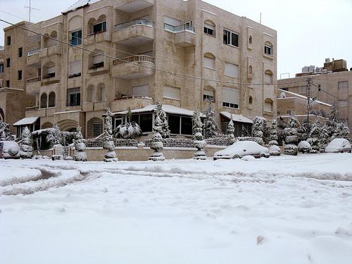 Snow in Amman bu Naseem Tarawnah