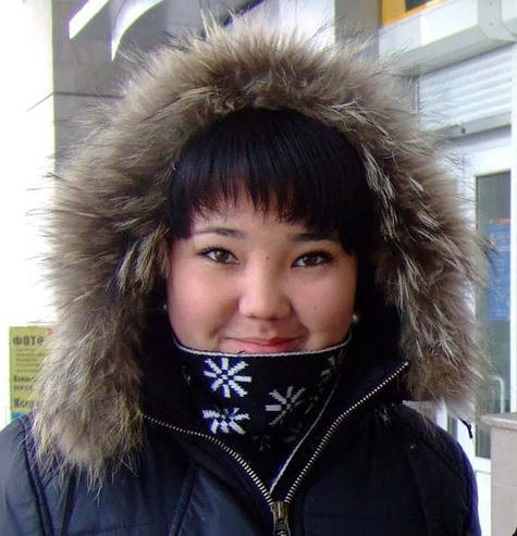 Cold weather in Kyrgyzstan