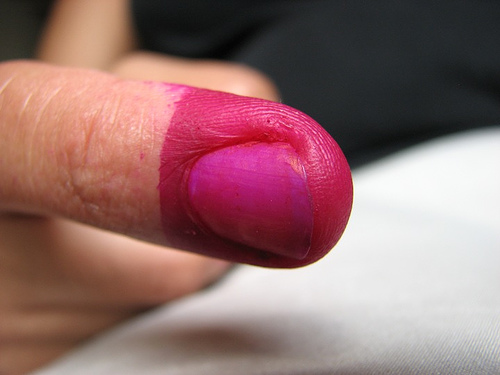 The Finger that Voted