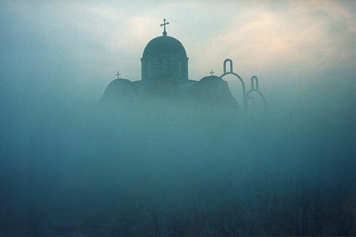 Ortodox church, Pristina, Kosovo and Metohija