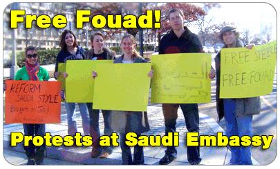 Free Fouad Rally at Washingtom D.C.