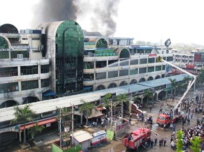 YadanarPon Market Fire3