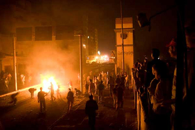 Riots in Cairo