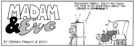 Madam & Eve Cartoon