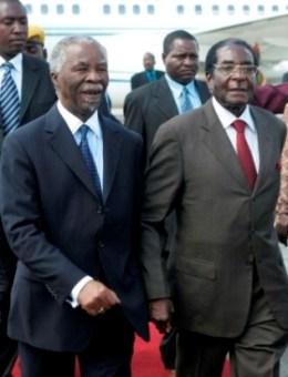 Mugabe and Mbeki
