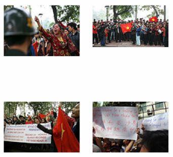 Anti-China Protest in Vietnam