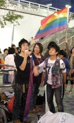 Фотографија од настан за ИДАХО во Токио