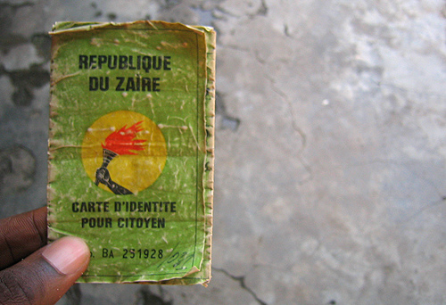 Documento di identità della Repubblica Democratica del Congo