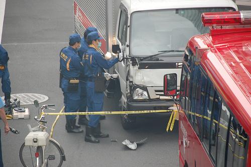 Камионот со кој е извршен инцидентот