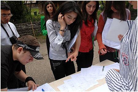 Azerbaijani Participants Registering