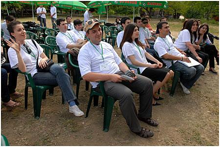 Armenian and Azerbaijani participants