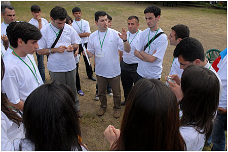 Azerbaijan Participants with Huseynzade