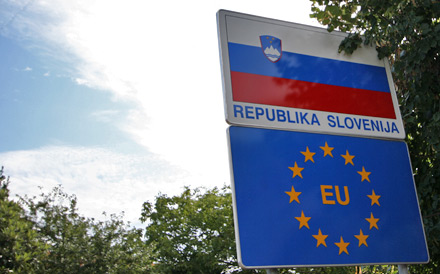 Slovenia Border Crossing