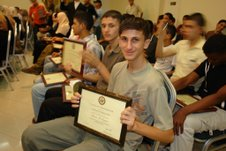 Ahmed Al Maghari - Gazan student