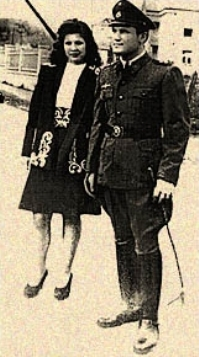 Dinko Šakić and Nada Luburić