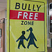 Cartello Bully Free Zone
