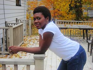 Guyanese litblogger Charmaine Valere