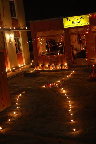 Tihar, festival of lights in Nepal