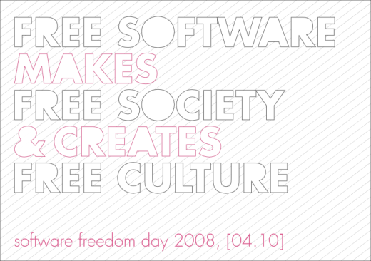 Announcement for Software freedom day