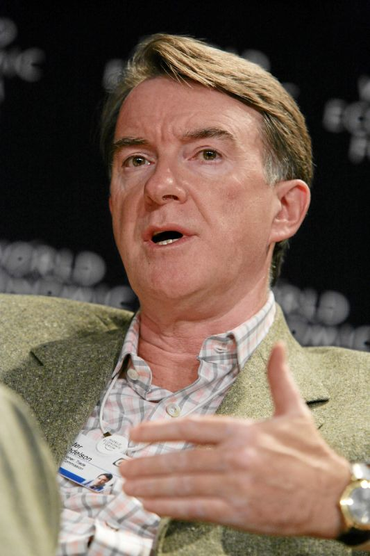Mandelson\'s pain, where is it from?