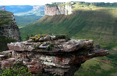 مشهد لمنتزه تشابادا الوطني في باهيا البرازيل