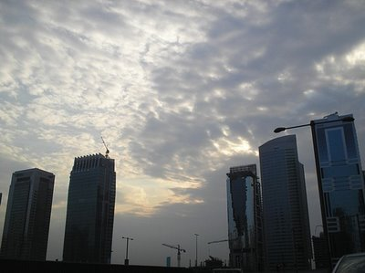 Clouds in Dubai\'s Skies