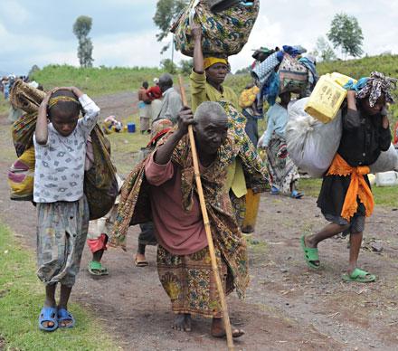 Abitanti di Kibati