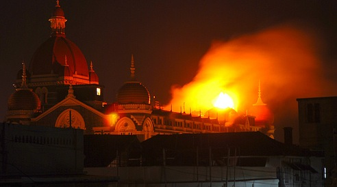Taj Burning