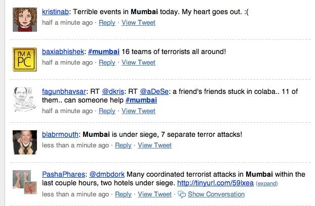 Twittering Mumbai