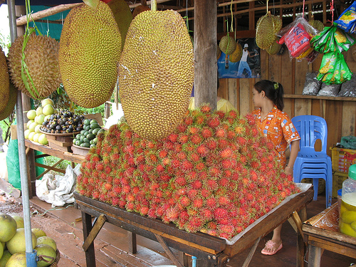 Cambodian fruits