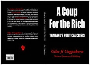 Copertina del libro 'A Coup for the Rich: Thailand's Political Crisis'