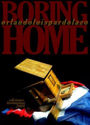 Copertina del libro Boring Home