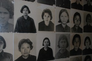 Images for the records at Cambodia's Tuol Sleng Prison