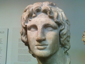 Marble portrait of Alexander the Great said to be from Alexandria, Egypt (2nd or 1st century BC), currently in the British Museum, London, UK. Photo: Filip Stojanovski